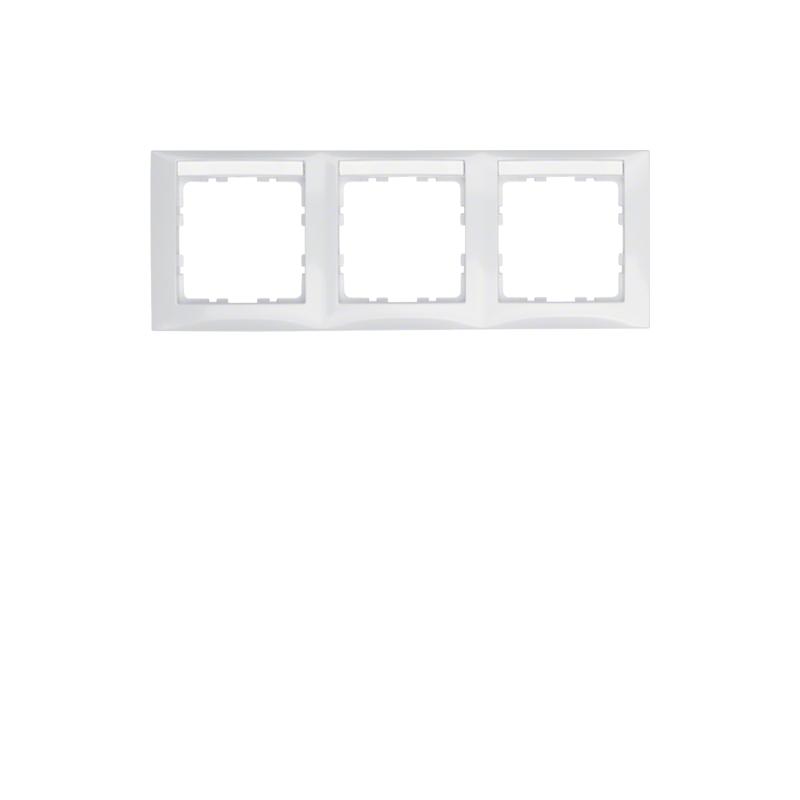 berker 10238919 s1 rahmen 3fach waagrecht mit. Black Bedroom Furniture Sets. Home Design Ideas