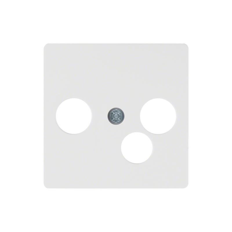 berker 14391909 s1 b x zentralplatte f r breitbandmodemdose polarwei matt elektrik store. Black Bedroom Furniture Sets. Home Design Ideas