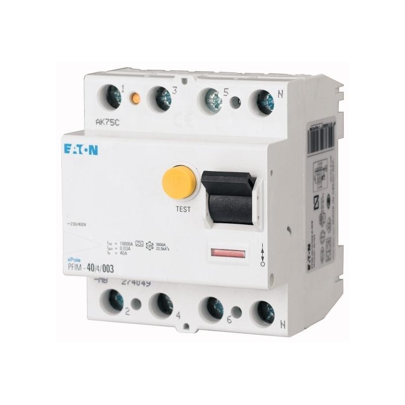 Eaton FI Schutzschalter PFIM-40/4/003-G Fehlerstromschutzschalter 4p 40A 30mA G 235453