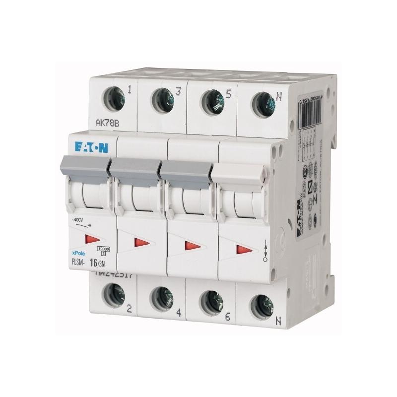 Eaton PLSM-C16/3N-MW Leitungsschutzschalter LS Schalter 242543