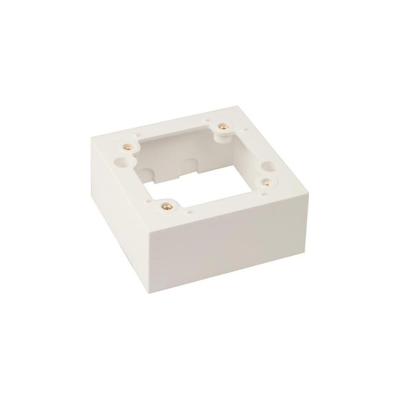 Züblin 25400 AP Rahmen zu UP Premium zu Swiss Garde 360 weiß eckig