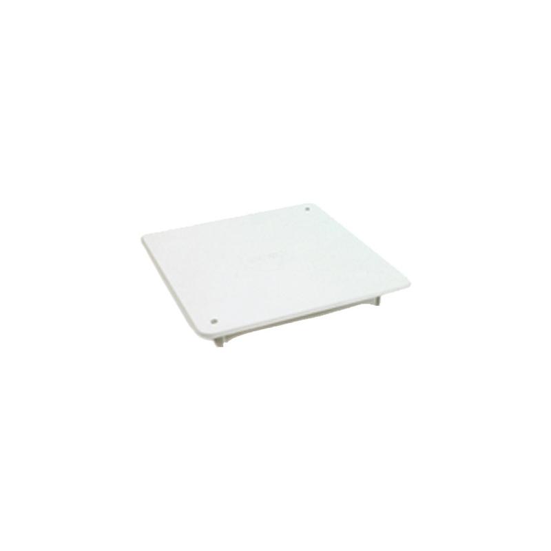 Dietzel AK/RD 100 Randdeckel zu AK/U 100 weiß steck- oder schraubbar