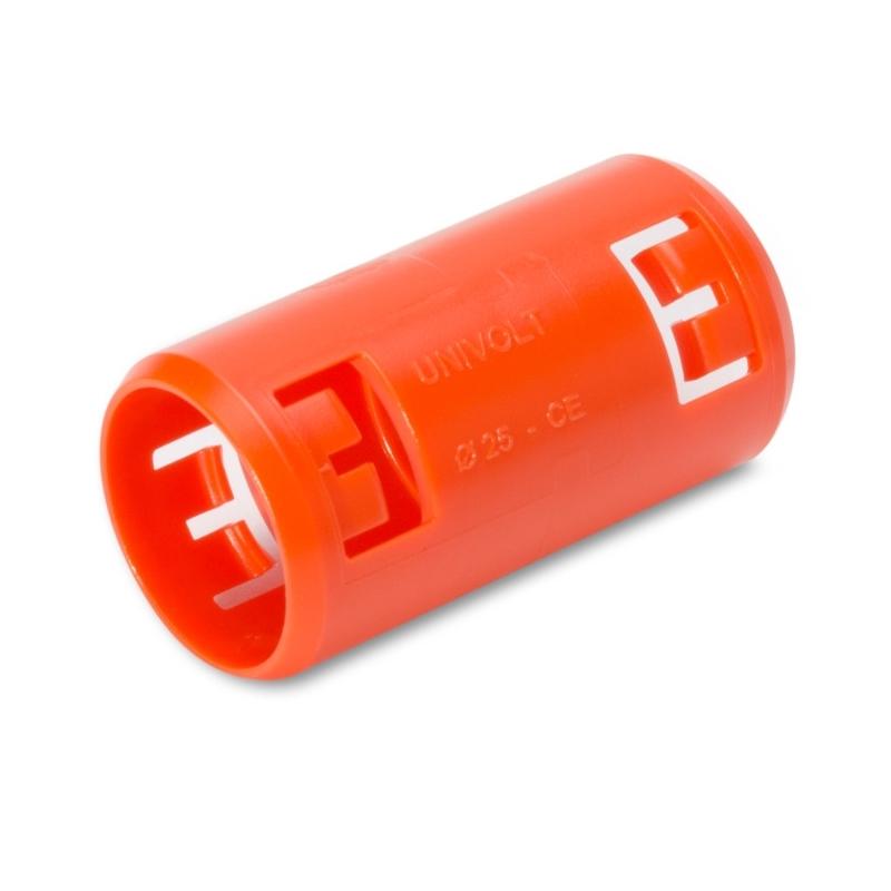 Dietzel KM-TURBO 25 OR Krallenmuffe halogenfrei orange für Betonverlegung 25mm 100 Stück