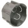 Dietzel ASD 70 O.D. Geräteabzweigdose einfach Einbauhöhe 74 mm 10x Ø20 und 6x Ø25