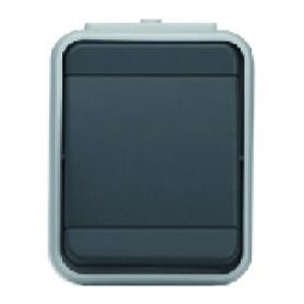 Elso 441609 Universal-Schalter 10A AquaTop Steckklemme licht/basaltgrau