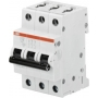 ABB S203-C20 Sicherungsautomat C-Char., 6 kA, 20 A, 3P 2CDS253001R0204