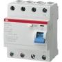 ABB F204 A S-40/0,1 FI-Schutzschalter 4P,Typ A,40A,100mA,selektiv 2CSF204201R2400