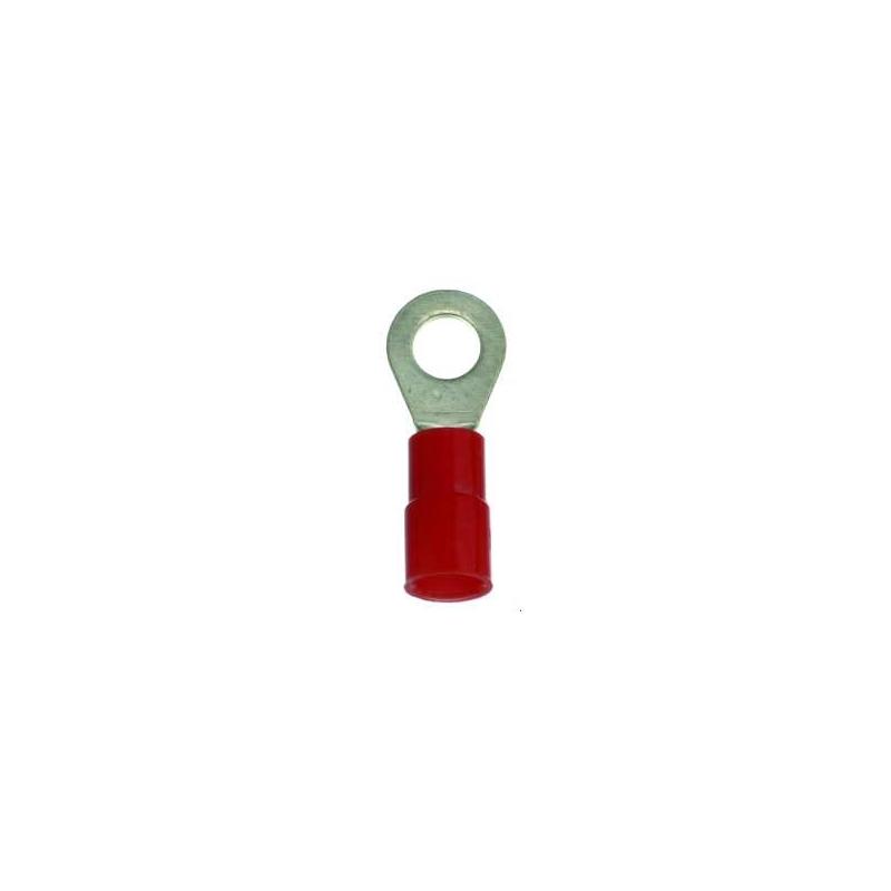 PROTEC.class PQKR 0,5-1,0/M6 Quetschkabelschuh rot 100 Stück