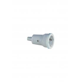 ABL 1679080 SCHUKO PVC-Kupplung, weiß