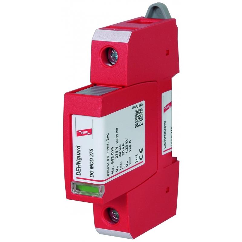 Dehn 952070 Überspannungsableiter Typ 2 DEHNguard S 1-polig Uc 275V AC