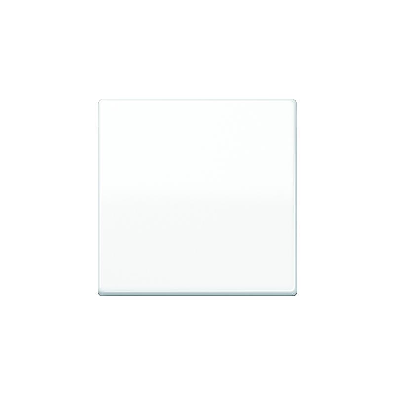 Jung ABAS 591 WW Wippe, Zentralplatte, antibakteriell, für Wippschalter, Tastschalter und Taster
