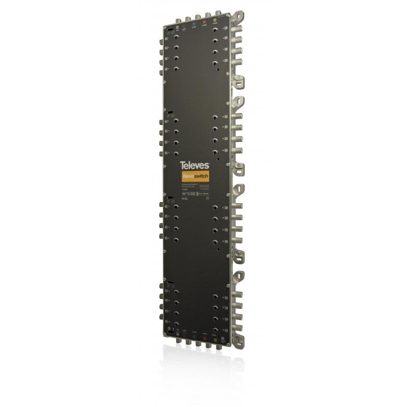 Televes MS532C 5 in 32 Guss-Multischalter NEVO, receiverpowered, kaskadierbar 714507